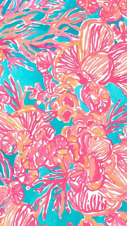 Fan-Tastic - Lilly Pulitzer   fondos   Pinterest   Fondos, Fondos de ...