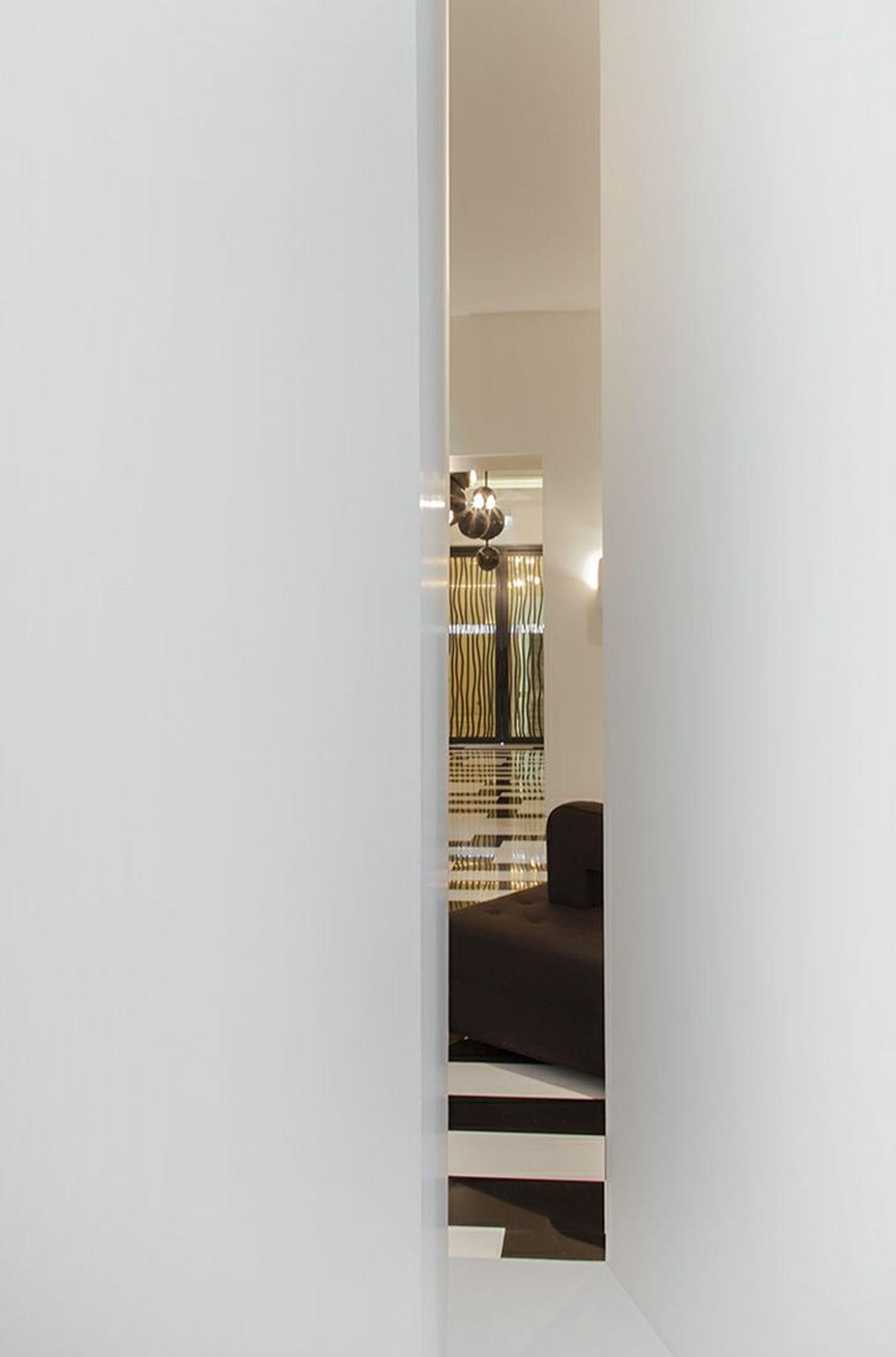 Lobby, Hotel Marignan Paris designed by Pierre Yovanovitch