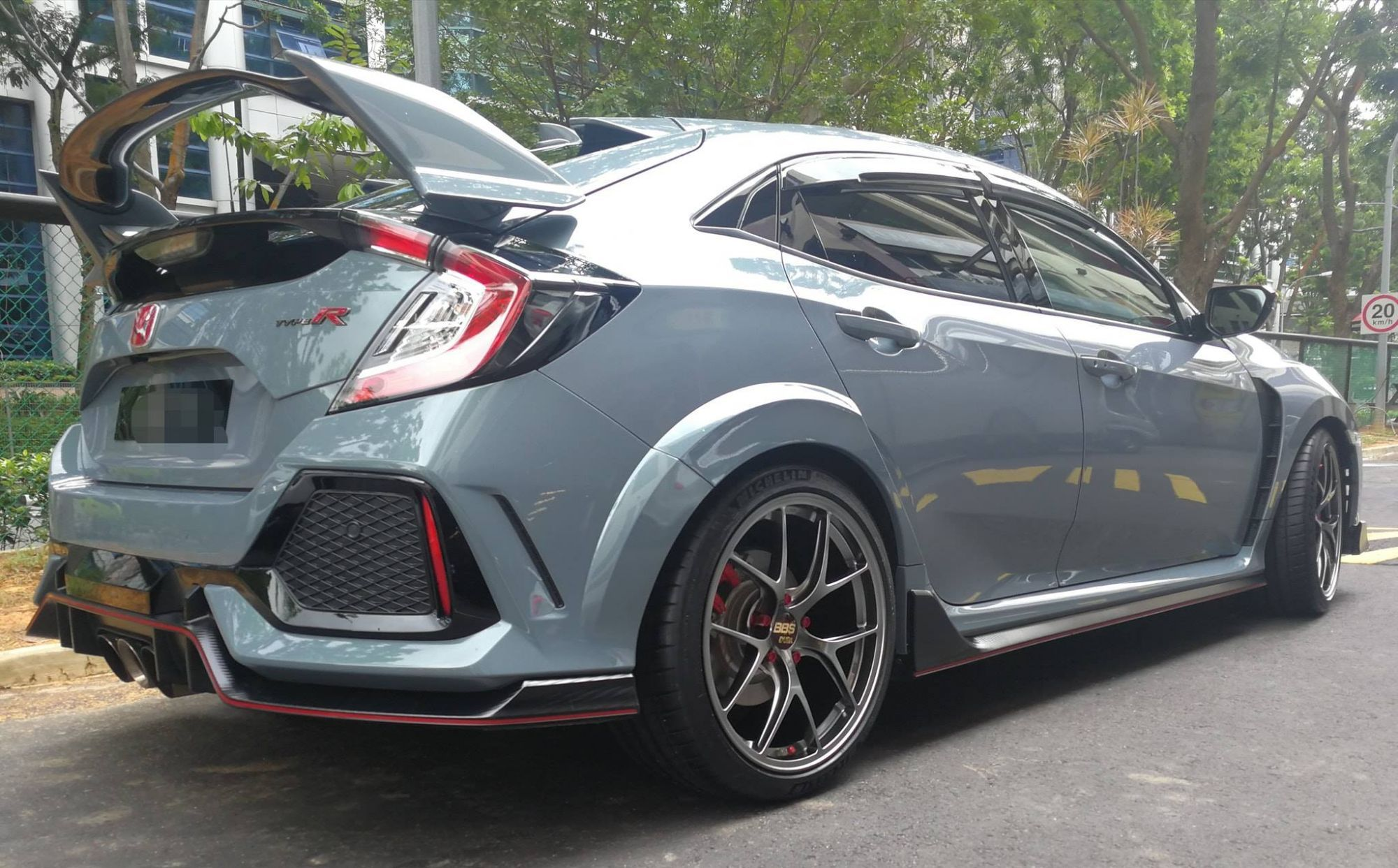Honda Civic Type R Fk8 Grey Bbs Ri D Wheel Fronthonda Civic Type R Fk8 Grey Bbs Ri D Wheel Front Honda Civic Type R Honda Civic Honda Civic Sport