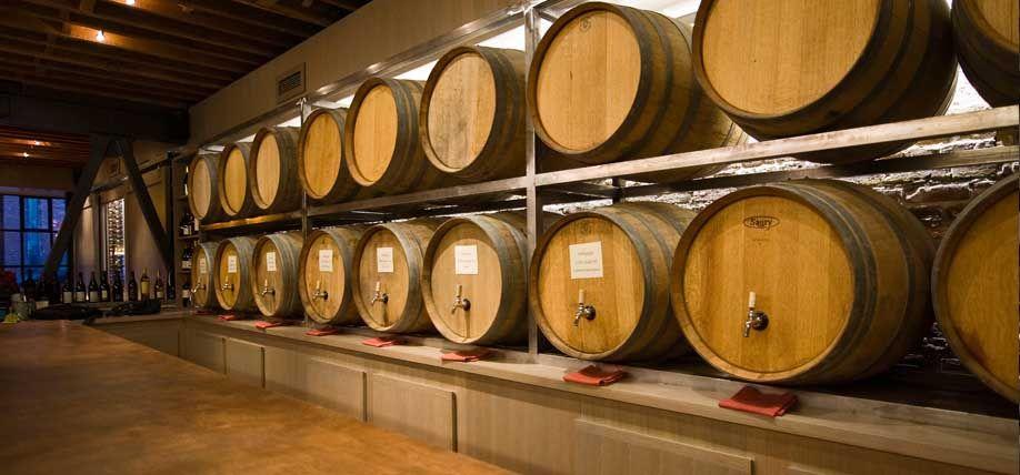 wine straight from the barrel plus a yuppie'sdream