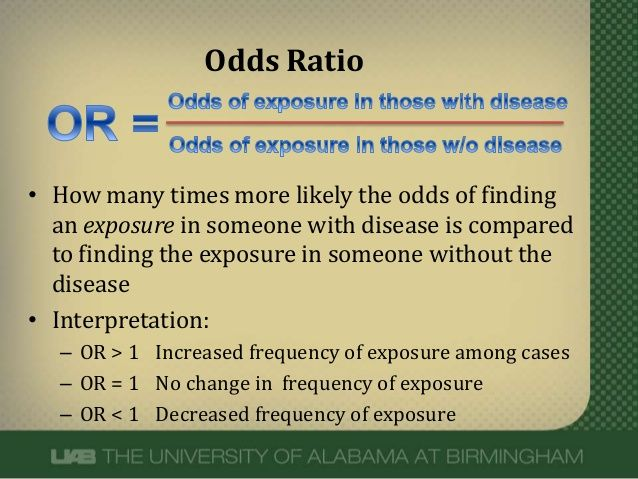 Meaning Of Odds