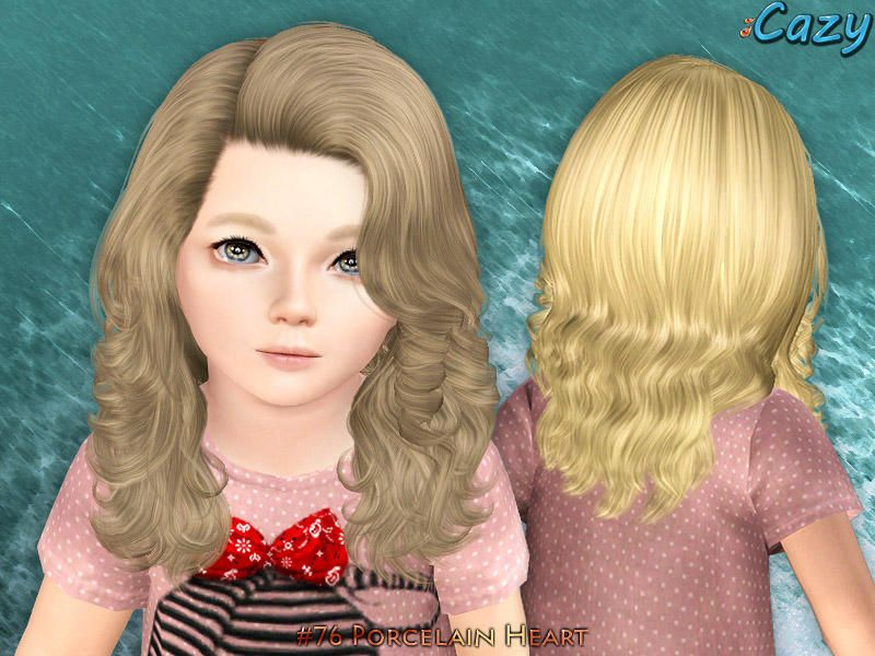"""Hairstyle for female toddler"" Cheveux d'enfant, Sims et"