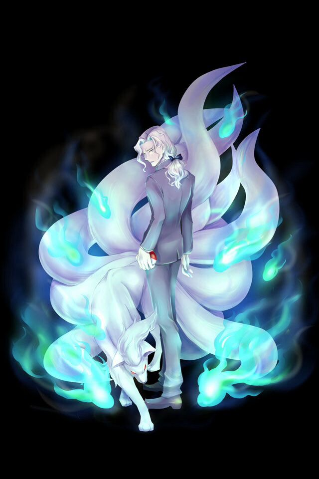 [Day 9] Favourite fire type - Ninetales No explanation needed; Ninetales is BADASS. It has an epic shiny colour palette as well