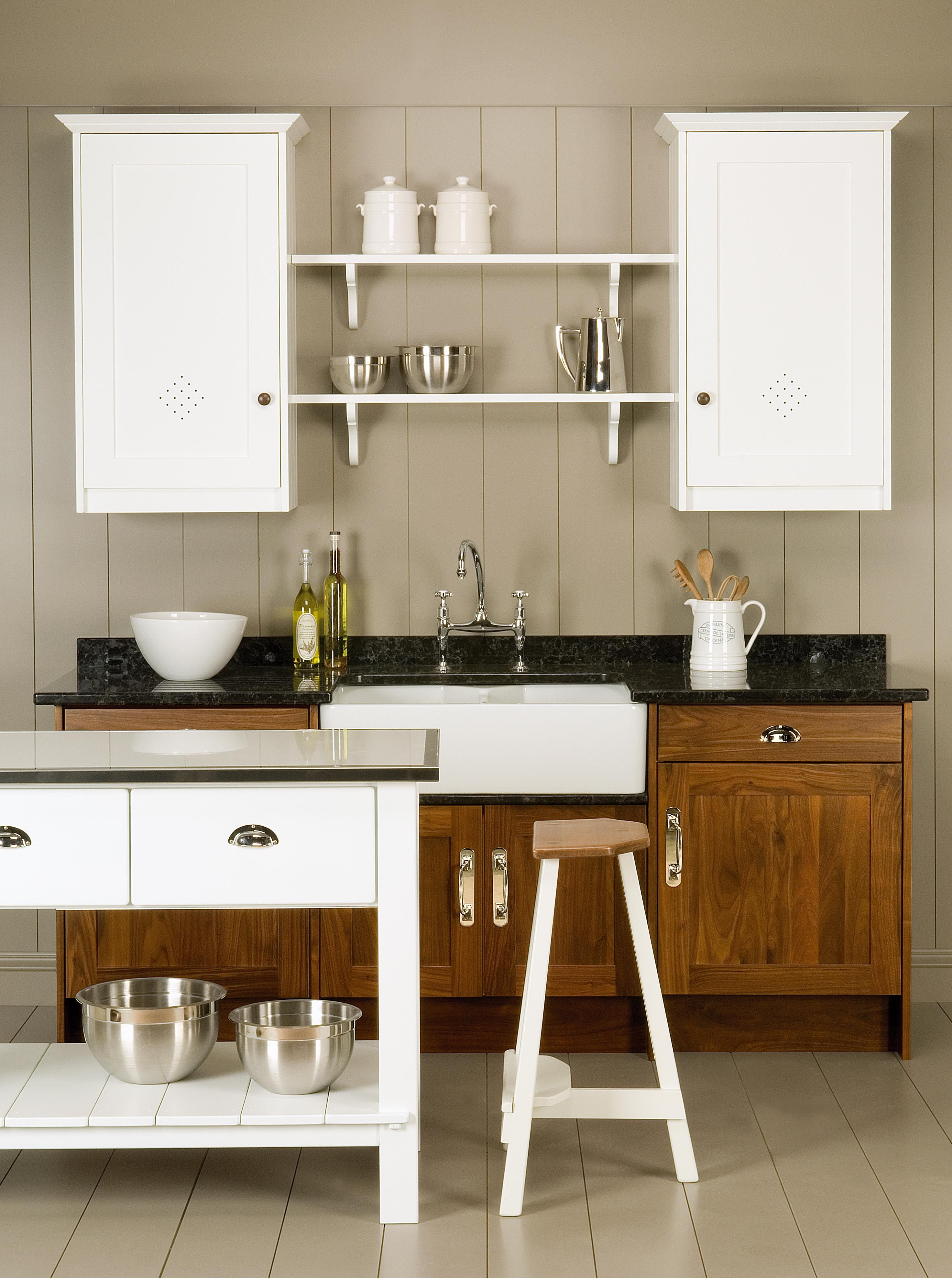 Mix & match: Wooden & white units in your kitchen from John Lewis of ...