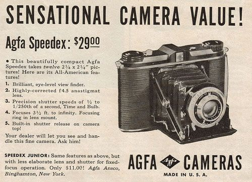 50 Vintage Camera Ads - Part 1 | Abduzeedo Design Inspiration ...