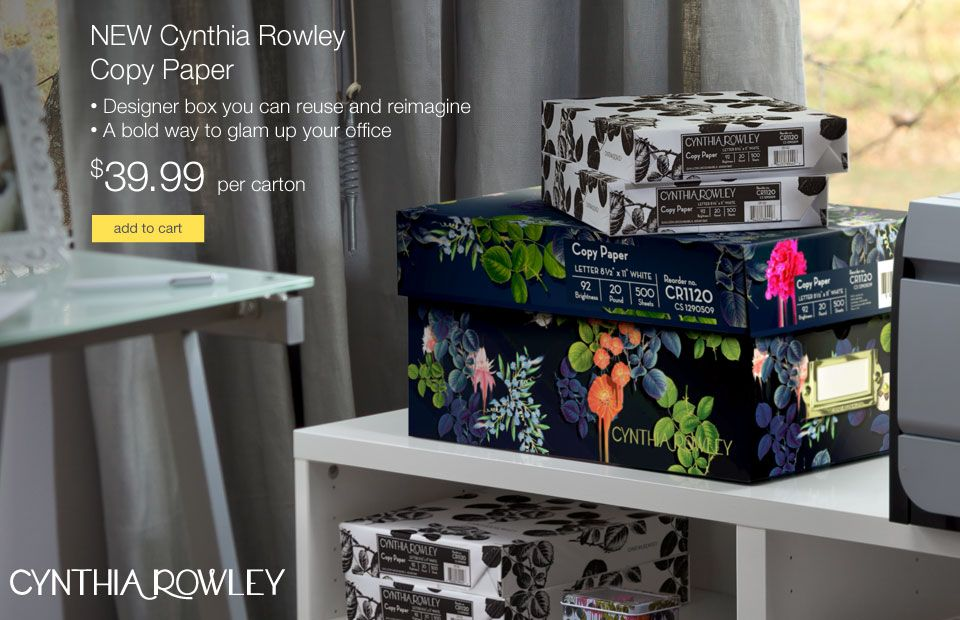 Cynthia Rowley Office Supplies Quill Com Office Supplies