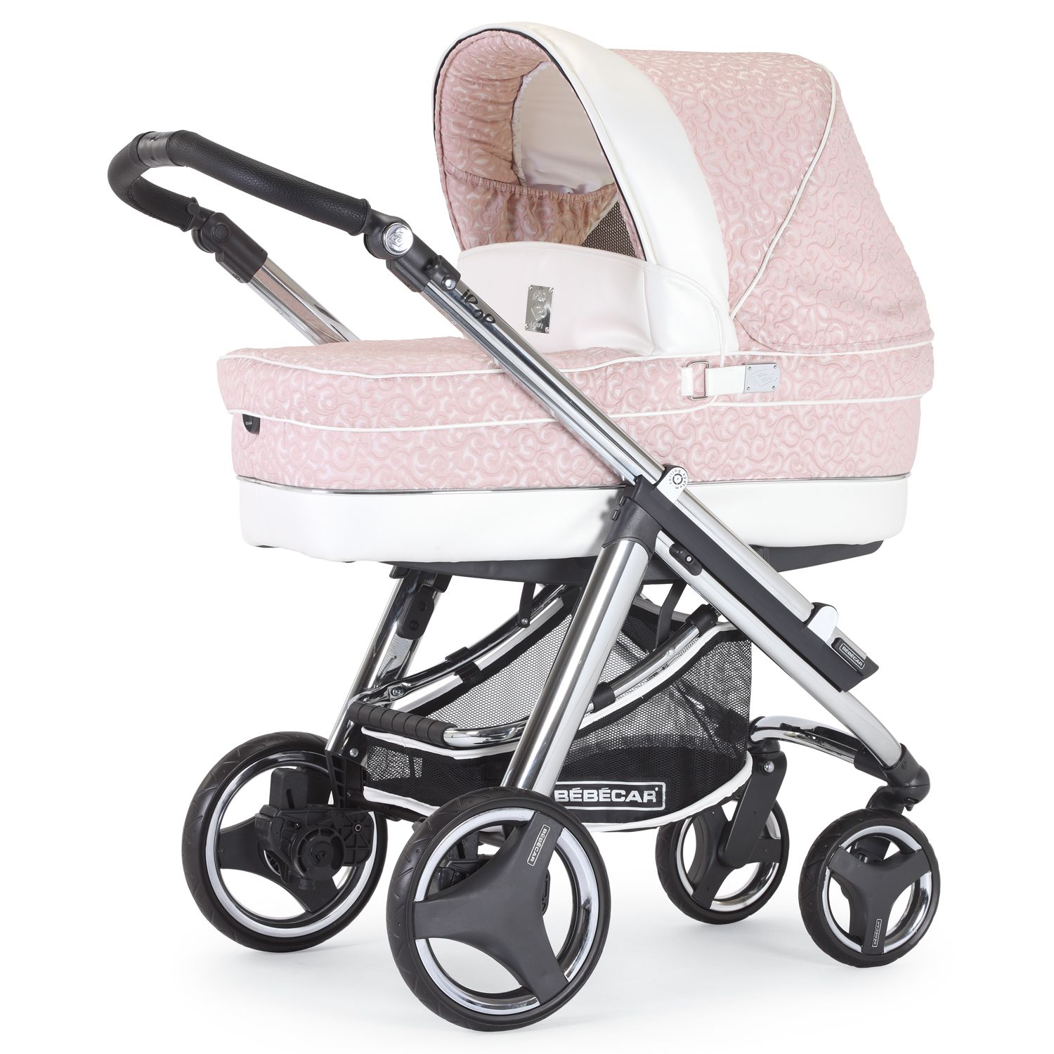 kinderwagen in pink f r m dchen babyausstattung in pink. Black Bedroom Furniture Sets. Home Design Ideas