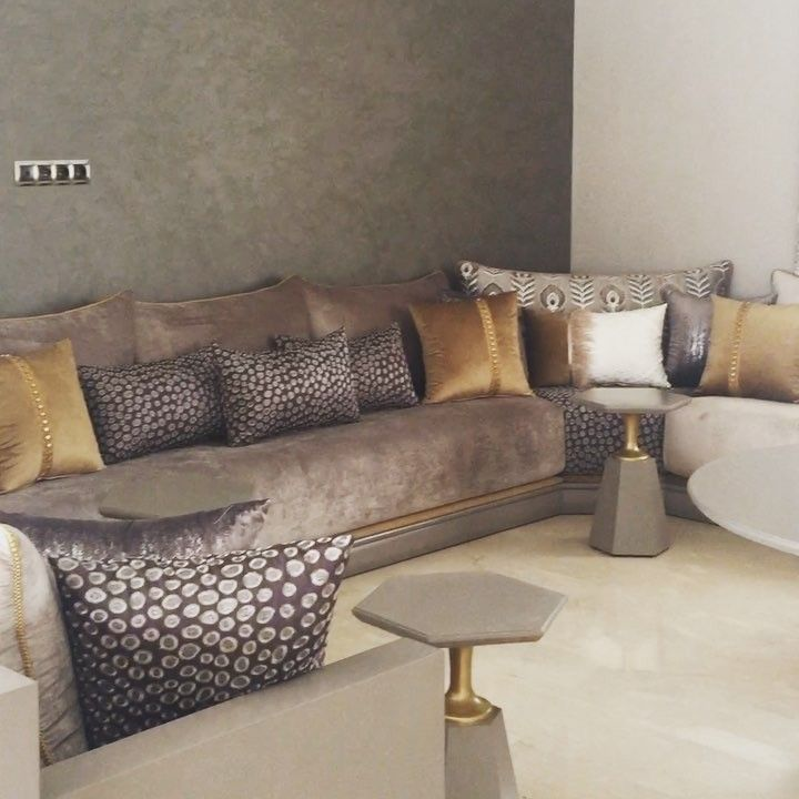 1 380 Likes 72 Comments Sofia Benhalima Sofia Design On Instagram The Whole View Of T Moroccan Living Room Home Decor Bedroom Luxury Living Room Design