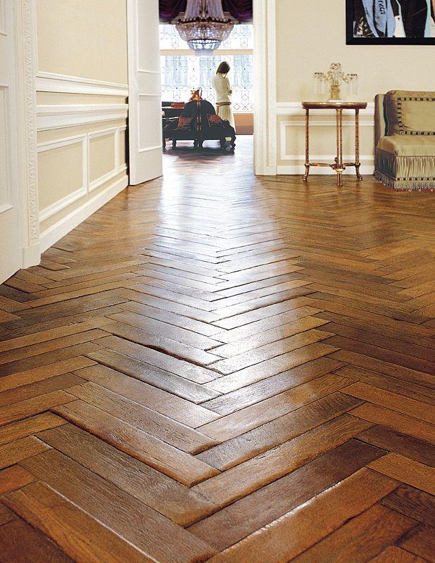 Herringbone Antique French Oak Flooring Herringbone wood