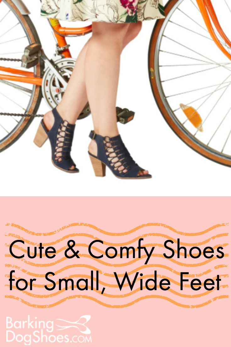 Wide Width Shoes for Women in Small