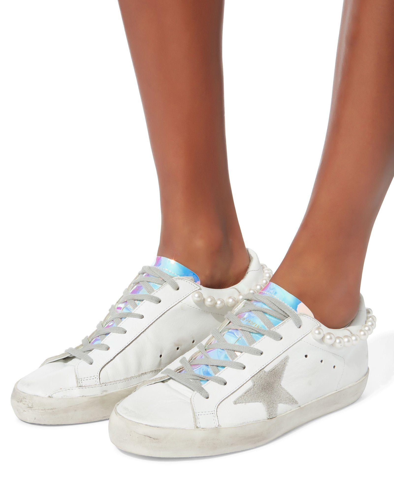 Superstar Pearl Hologram Sneakers