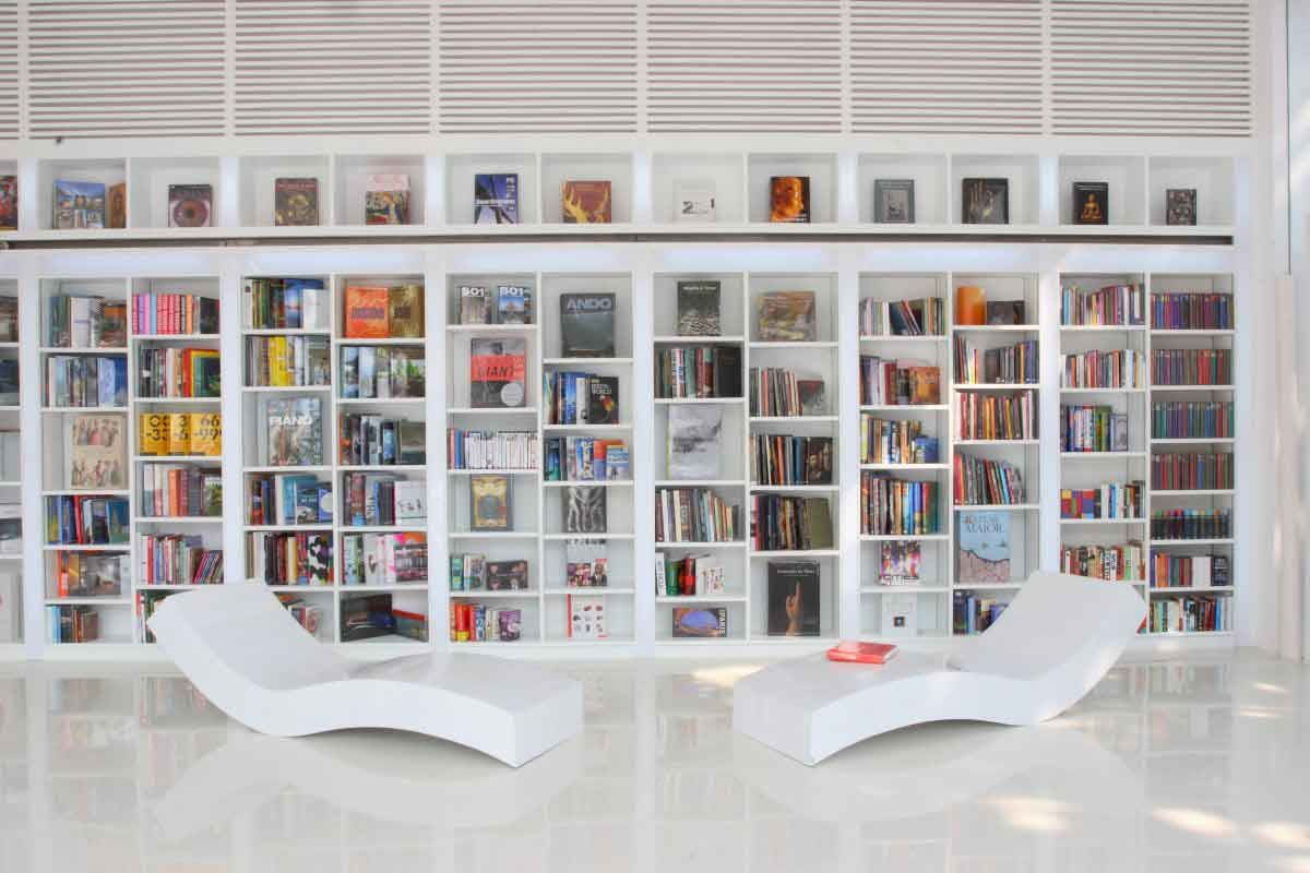 Modern Library Decor Modern Library Decor