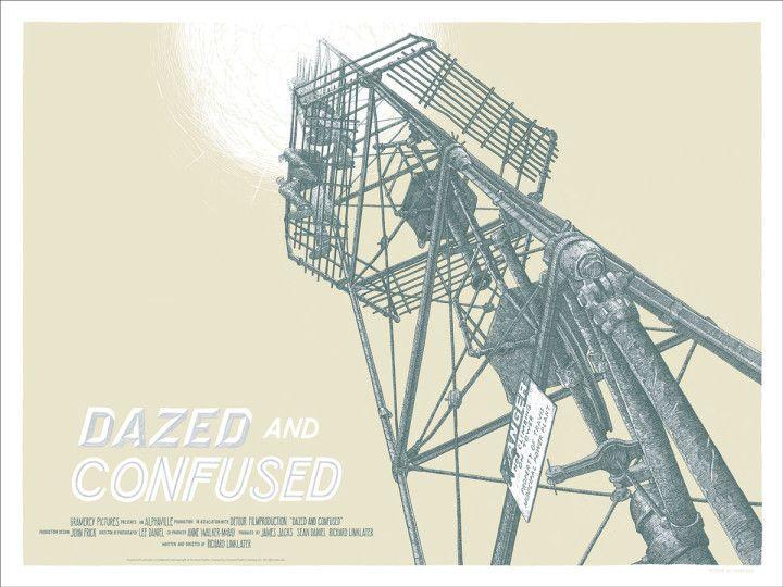 La galería de Austin ha realizado una edición especial de carteles para los títulos más conocidos del director en SXSW. SXSW: Los pósters de Mondo en homenaje a Richard Linklater  Si quieres saber más sobre las moonlight towers de Austin,lee, lee.Diseños de Dan Black.
