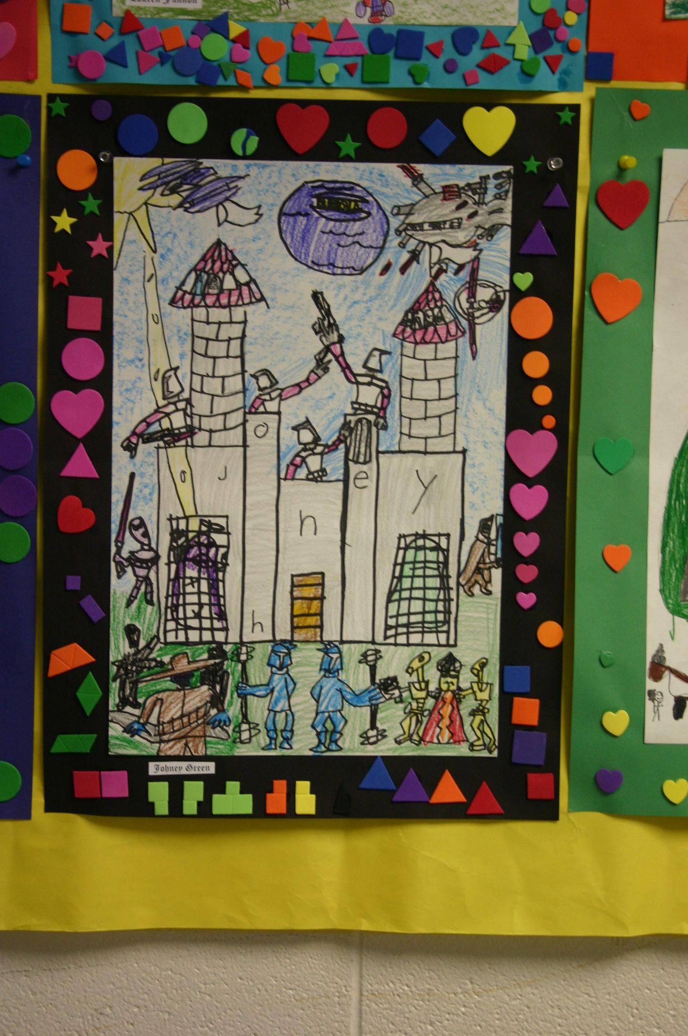 Castle Deep Space Sparkle Idea 2nd Grade With Images