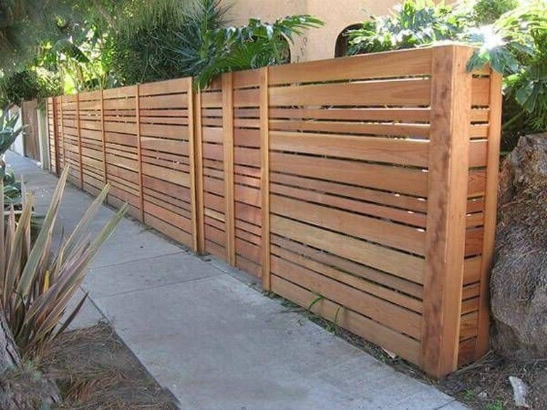 100 Inexpensive Diy Fence Ideas For Your Garden Privacy Or Perimeter Gardendesign Gardendecoration Di Privacy Fence Designs Fence Design Backyard Privacy