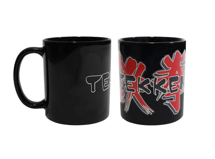 Mug with the logo from the video game series Tekken Ceramic mug