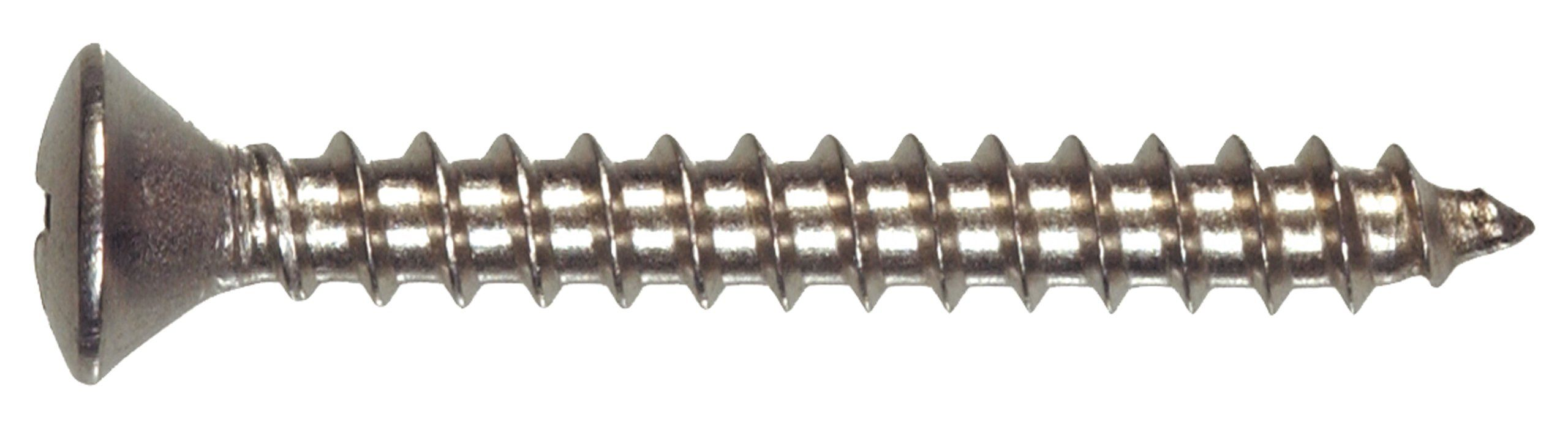The Hillman Group 823666 Stainless Steel Oval Head Phillips Sheet Metal Screw 8 X 1 Inch 1 Stainless Steel Sheet Metal Screws And Bolts Stainless Steel Sheet