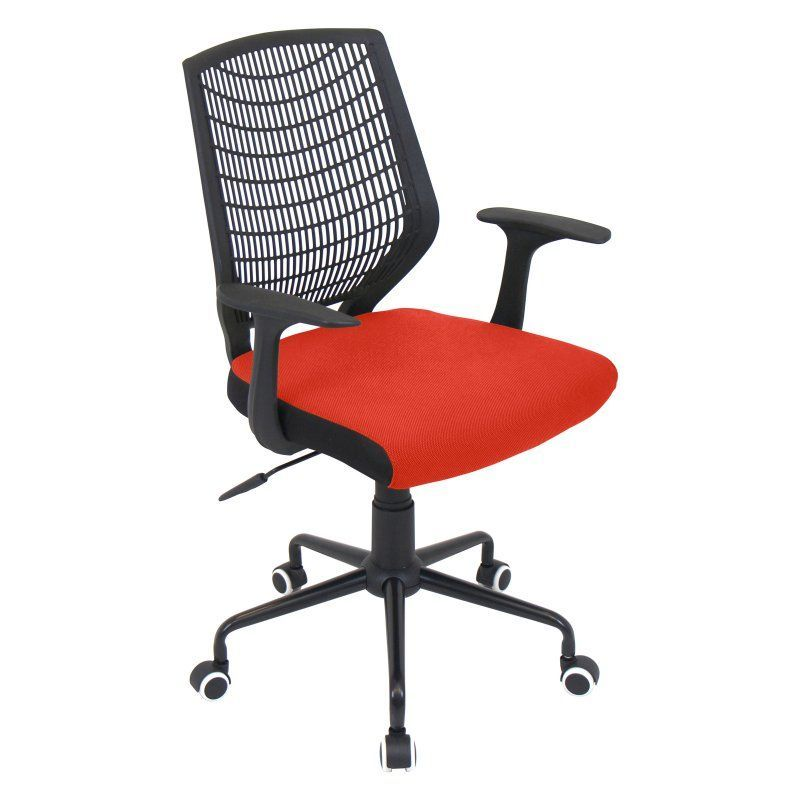 ofc office furniture. LumiSource Network Height Adjustable Office Chair With Swivel - OFC-NET BK+R Ofc Furniture