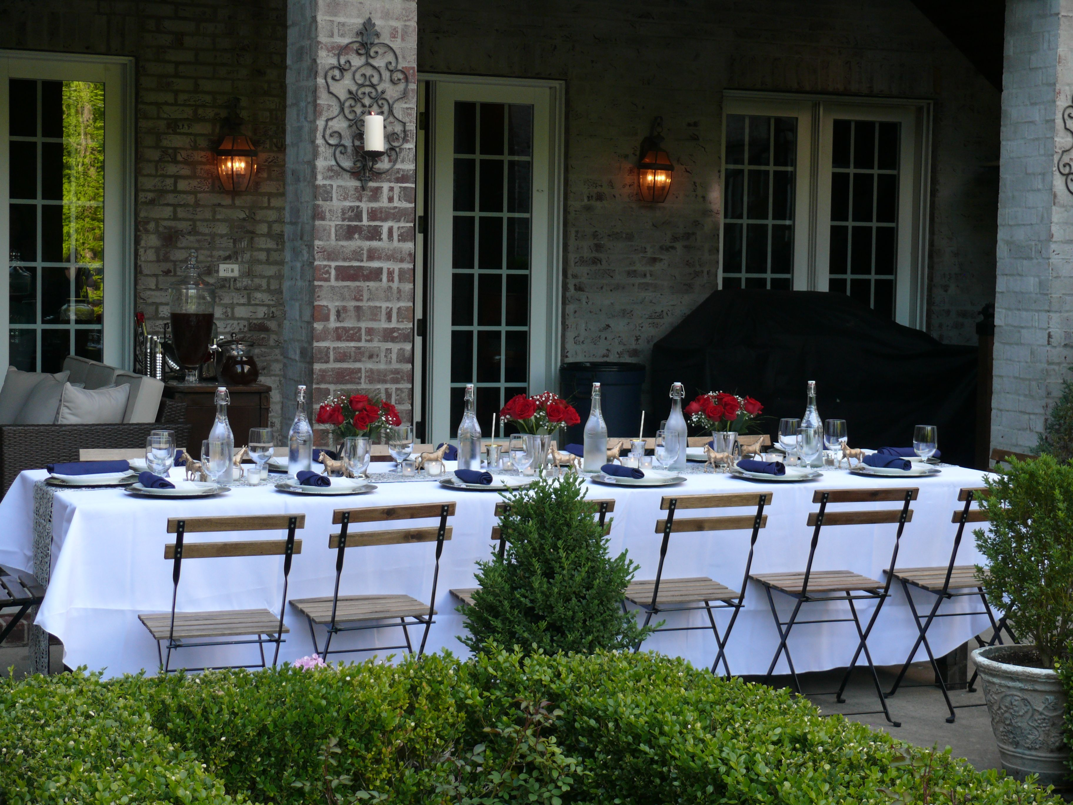 Pin by Linda VanHoose on Prom dinner at home | Backyard ...