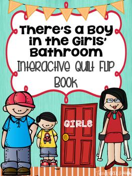 There S A Boy In The Girls Bathroom Interactive Quilt Flip Book Flip Book Novel Activities Novel Studies