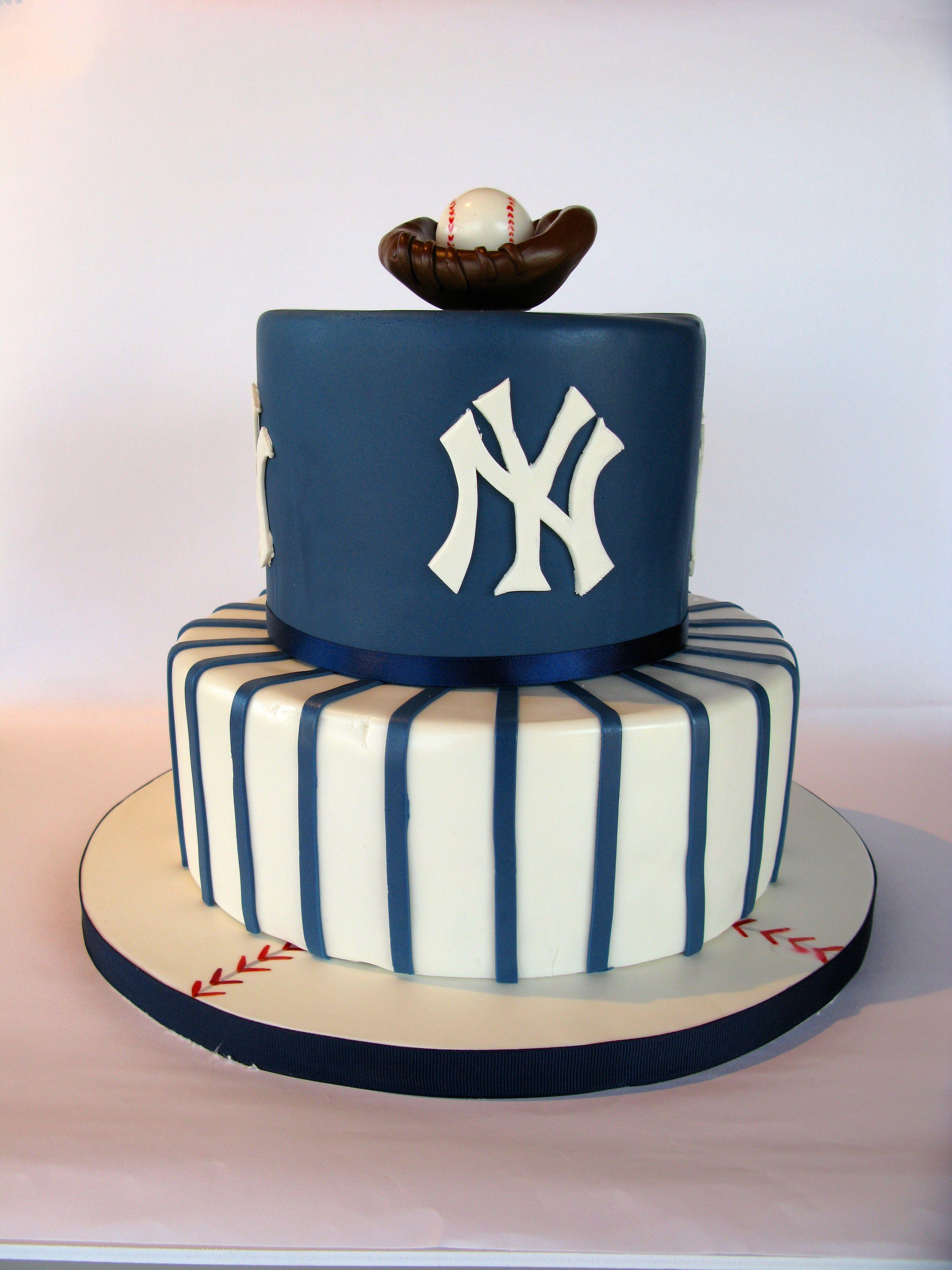 Ny Yankee Cake Baseball Cake