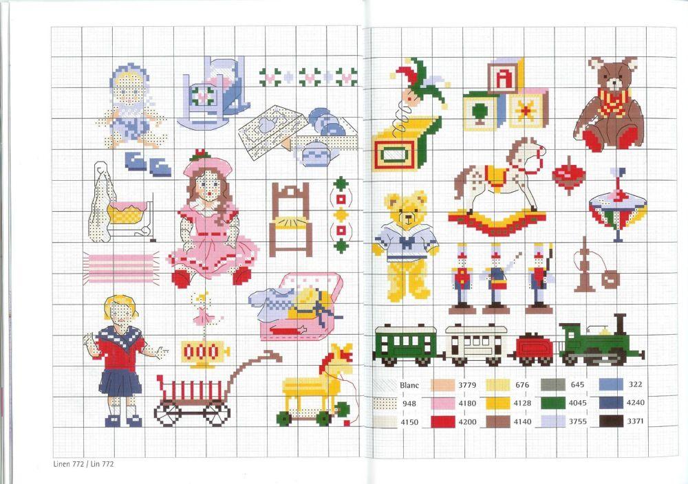 Various children's motifs