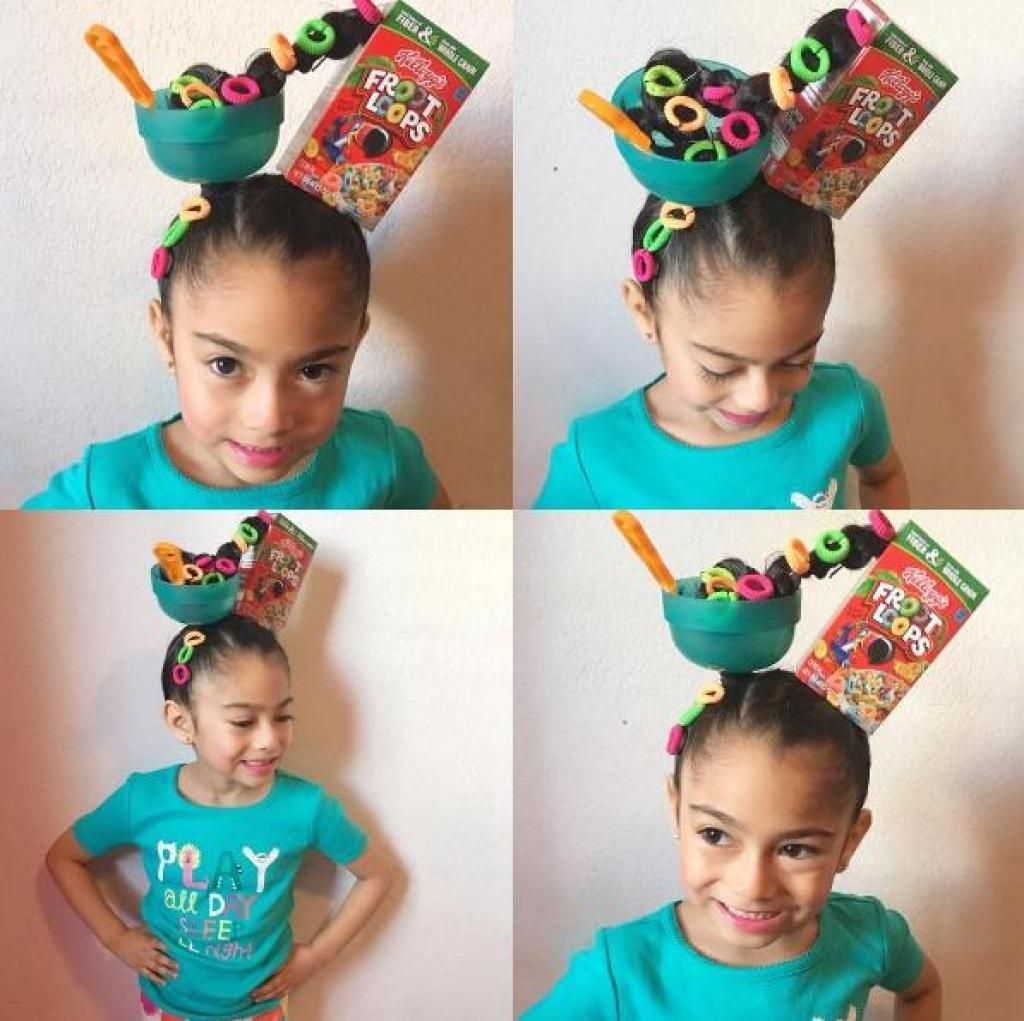 Remarkable Crazy Hair Day Crazy Hair Day Ideas Crazy Hair Day At School Girls Short Hairstyles For Black Women Fulllsitofus