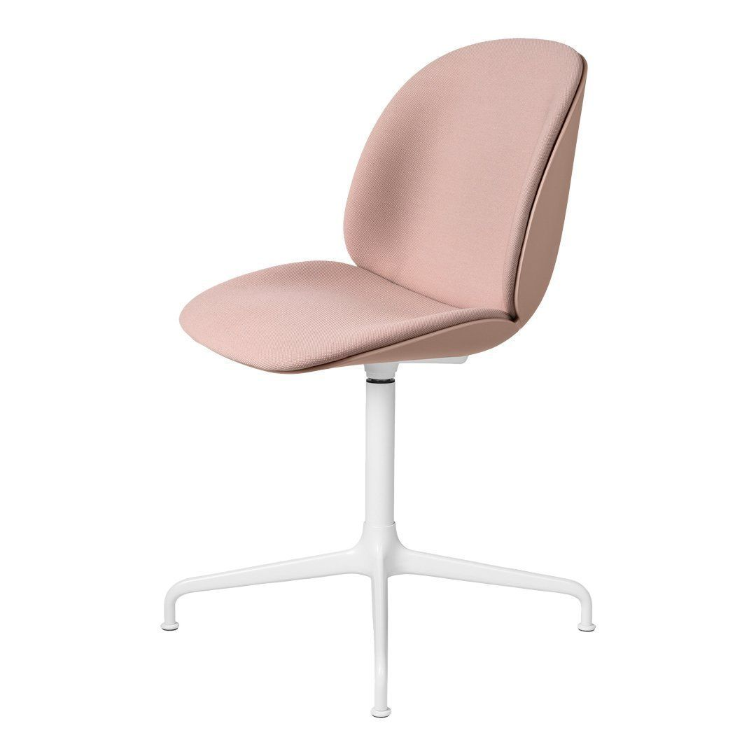 Beetle Meeting Chair - 4-Star Swivel Base - Front Upholstered