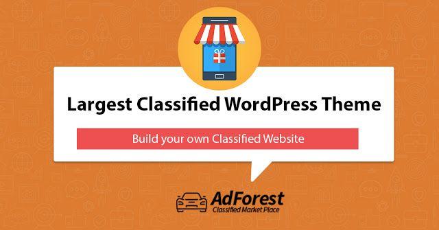 Classified WordPress Theme - AdForest: How #Premium #Classified #Ads ...