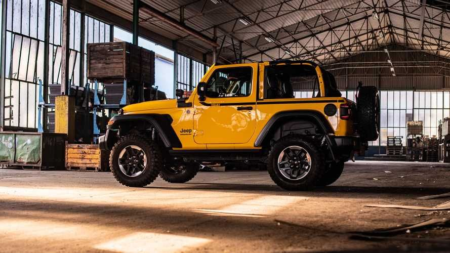 Jeep Wrangler Rubicon 1941 Edition Storms Europe Again Jeep