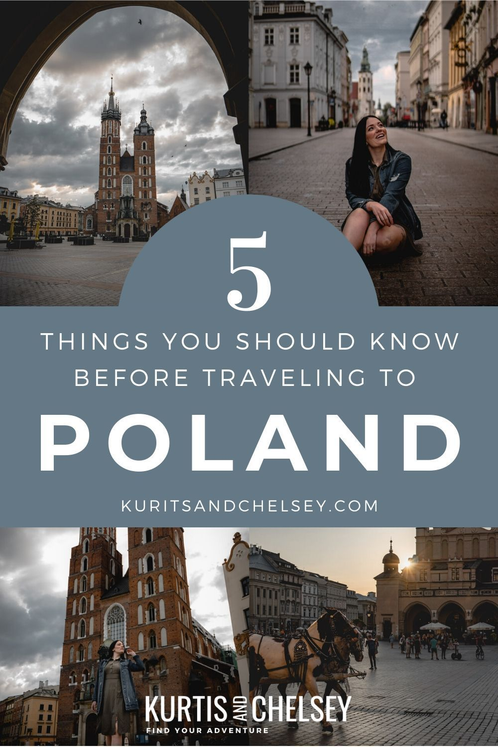 Everything you need to know for visiting Krakow Poland for the first time.  #travelguide #travel #poland #krakow