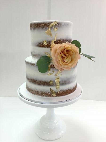 Wedding Cakes  Buttercream  Buttercream Wedding Cake -8138