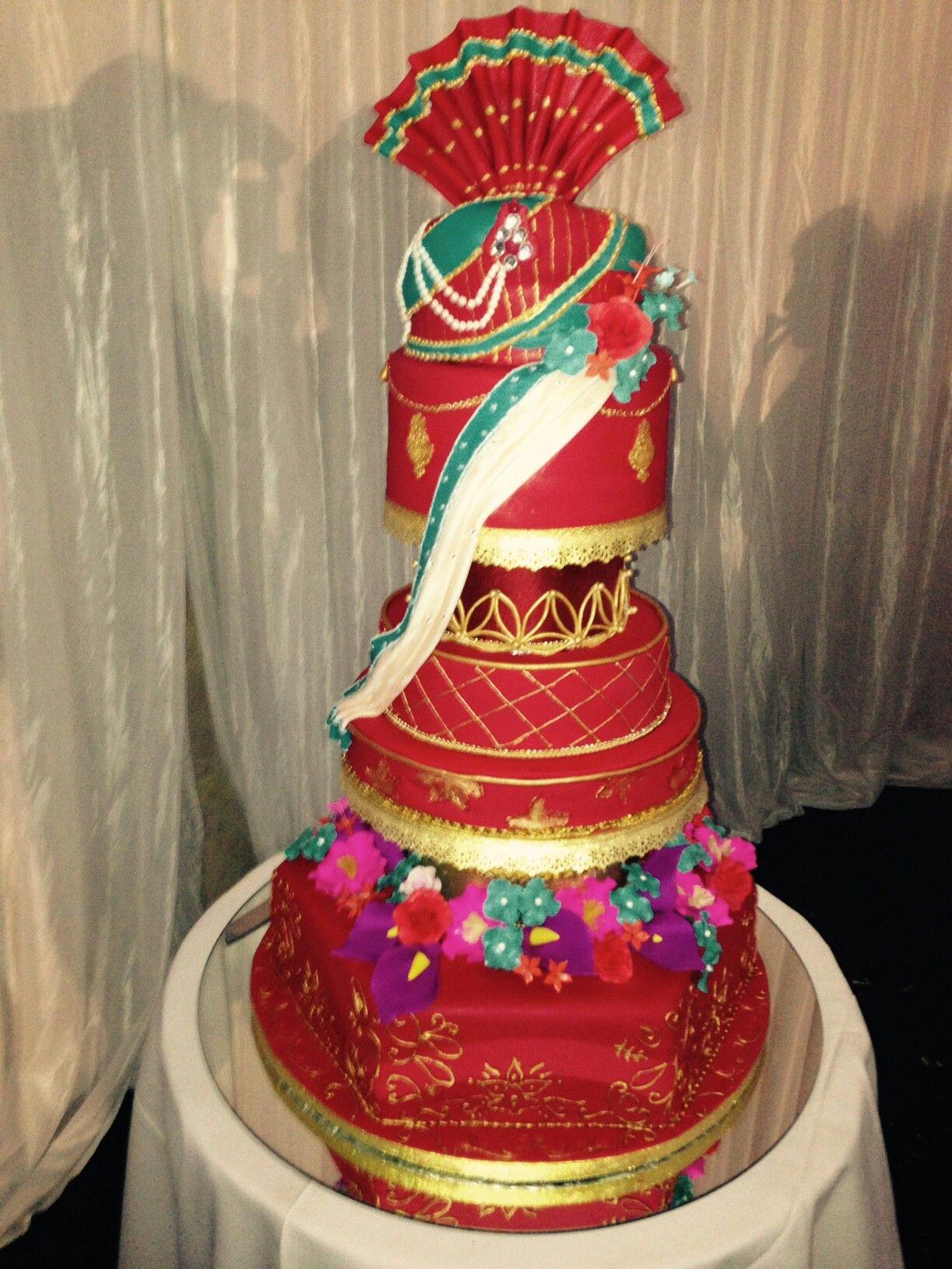 Traditional Indian Wedding Cake The Cake House Pietermaritzburg