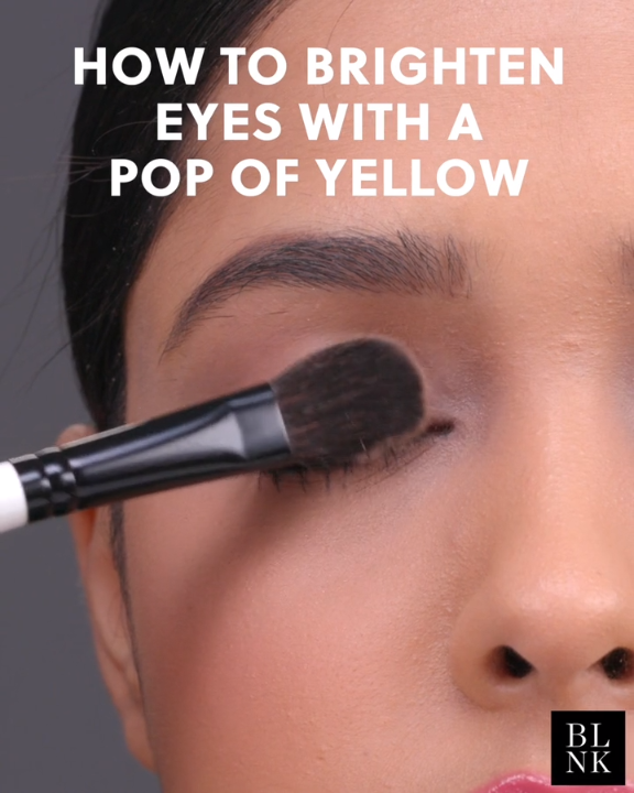 Photo of How to Brighten Eyes with a Pop of Yellow #makeuptutorial #beautytutorial #yello…