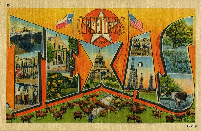 Greetings from texas large letter postcard large letters texas greetings from texas large letter postcard m4hsunfo
