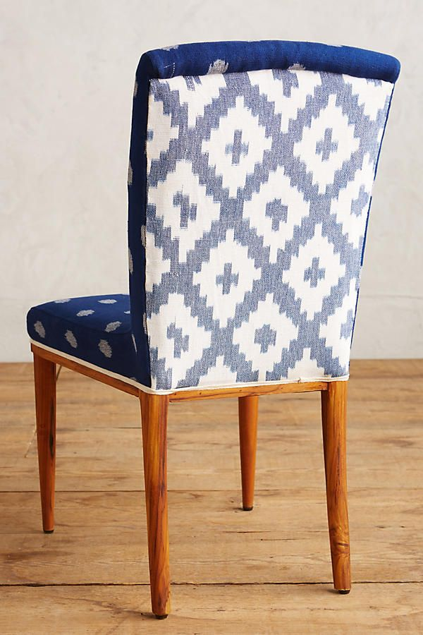 Slide View 2 Elza Ikat Dining Chair