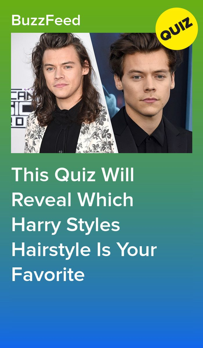 What Harry Styles Hair Style Is Your Style? in 2020
