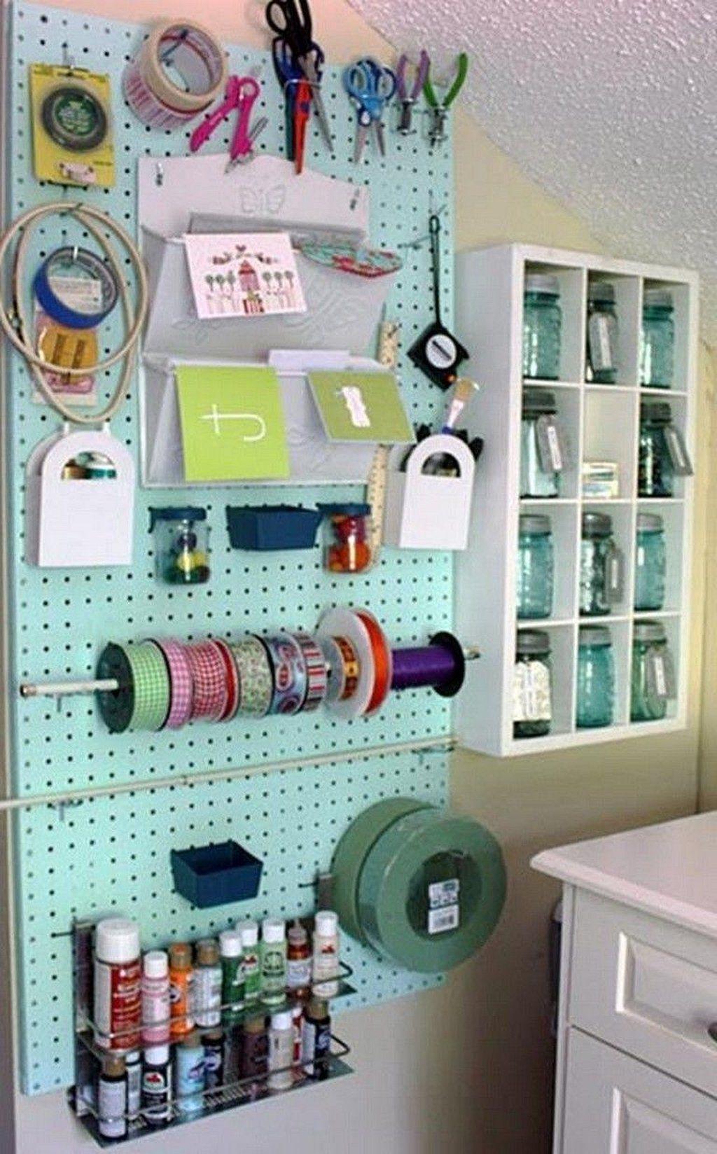 craft room organization on a budget https www mobmasker on new garage organization ideas on a budget a little imagination id=86433