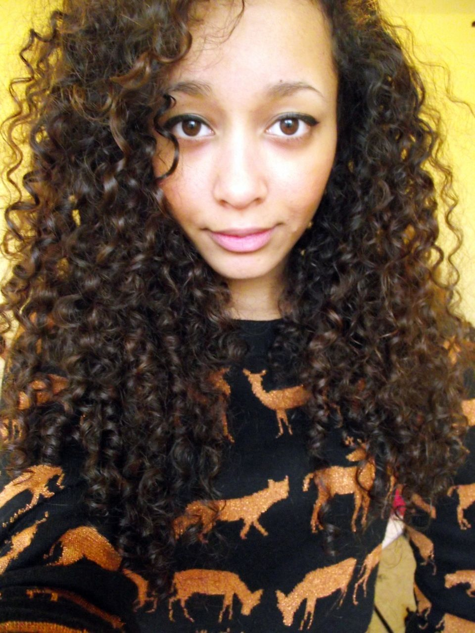 Wish my hair did this!! Or at least get this long