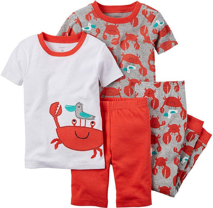 9d4c2df74 Carter s 4-pc. Crab Pajama Set - Baby Boys newborn-24m