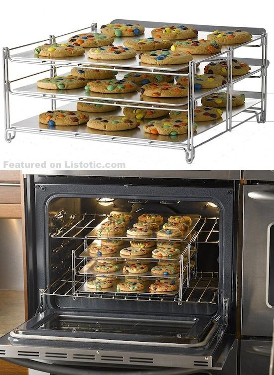 Tiered cookie rack! The perfect baking solution for large batches