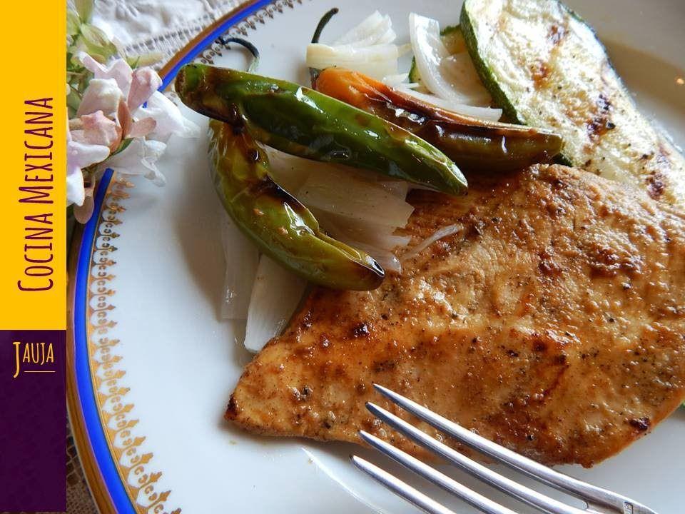 Pechugas de pollo al ajo y lim n a la plancha pechugas de - Pechugas de pollo al limon ...