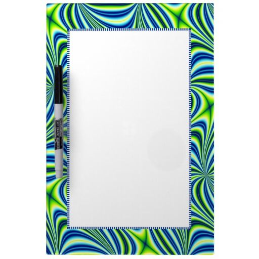 #Lime #Green and #Blue Board #DryErase #Whiteboards