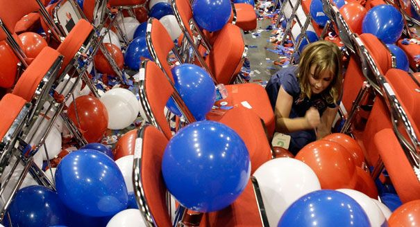 Girls popping balloons #14