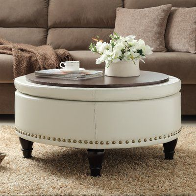 Three Posts Manford Storage Ottoman   Wayfair is part of Storage ottoman coffee table - Shop Wayfair for A Zillion Things Home across all styles and budgets  5,000 brands of furniture, lighting, cookware, and more  Free Shipping on most items