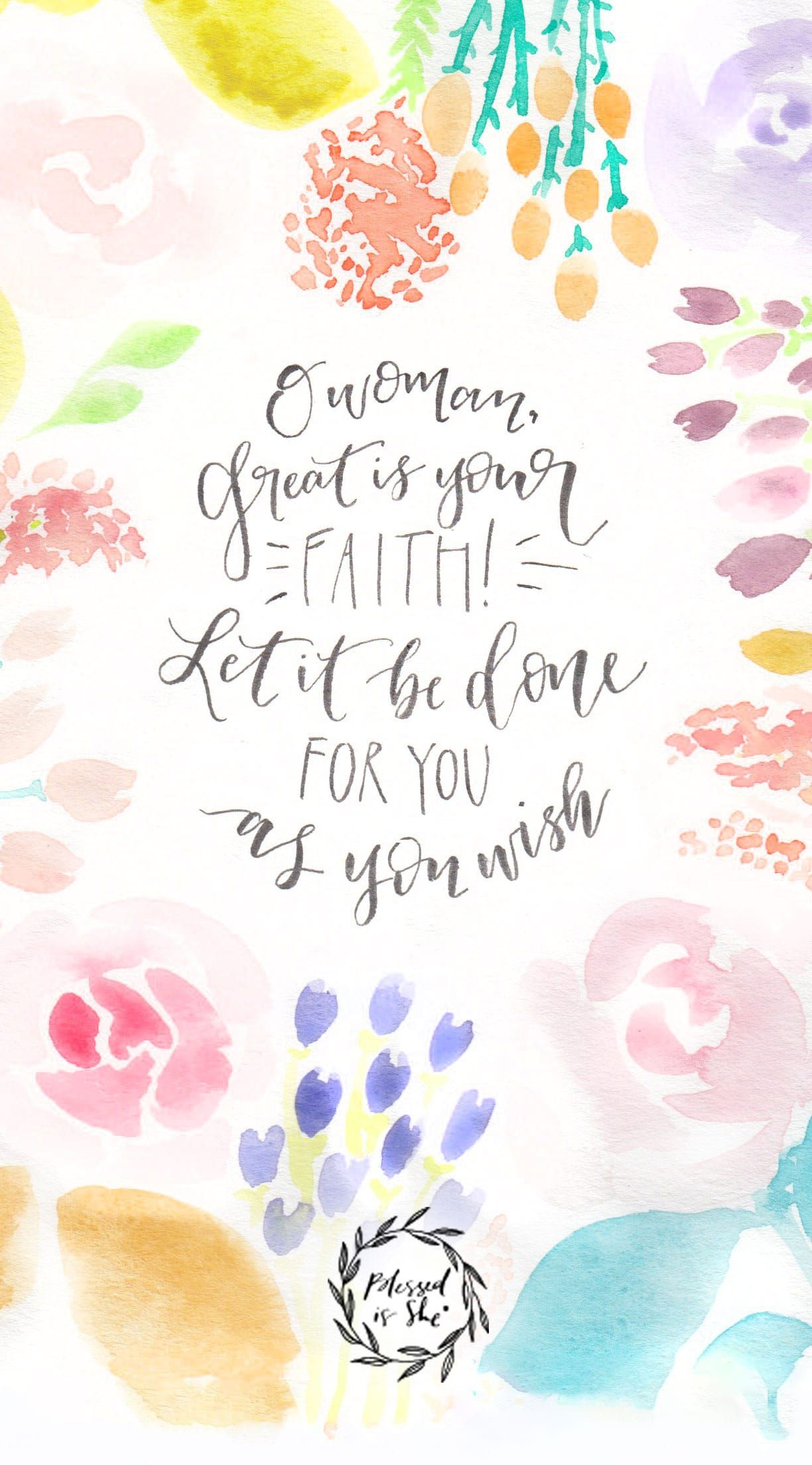 Iphone Wallpaper Scripture Watercolor Quotes