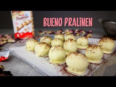 Pralinen aus nur 3 Zutaten   Kinder Bueno Pralinen   Bueno Weiß   Kikis Küche