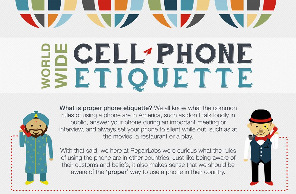 Phone talk etiquette in different countries explained