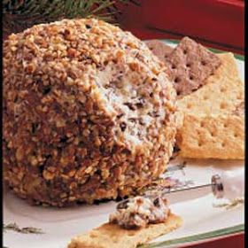 As T:ime Goes By: Chocolate Chip Cheese Ball
