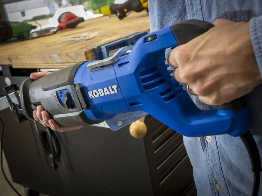 Kobalt 13 Amp Reciprocating Saw K13rs 03 Review Reciprocating
